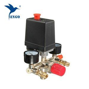 125psi 1 Switch Pressure Pemampat Udara dengan Pengukur Pengatur