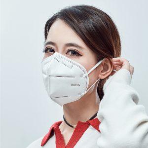 n95 Topeng pakai buang untuk mencegah asap, mencegah habuk dan bernafas dengan bebas