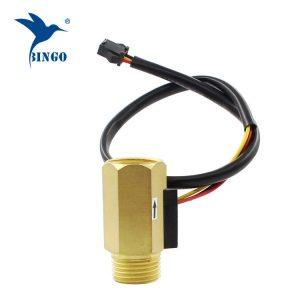 Brass Hall Turbine flow sensor meter kawalan suis