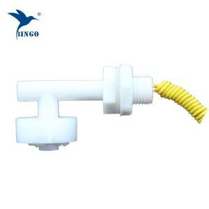 anndason 6 pcs sudut kanan putih plastik pp float suis tangki ikan cecair paras air kawalan sensor