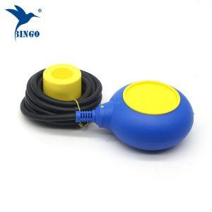 Pengawal aras jenis MAC 3 dalam suis apungan kabel berwarna kuning dan biru