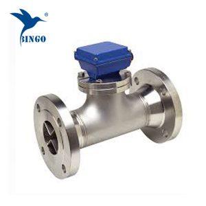 Sensor meter aliran air turbin digital yang diulirkan