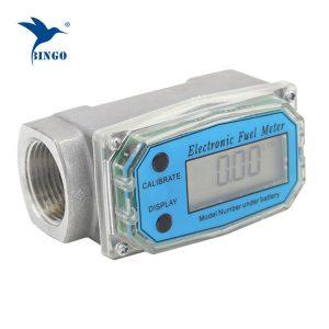 Meter aliran air turbin untuk minyak, diesel atau petrol