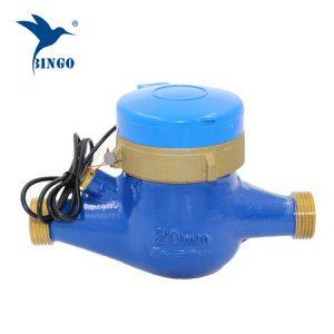 tembaga badan Pulse Water flow meter sensor denyutan (1)