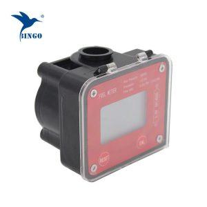 meter aliran gear bujur yang rendah
